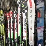 alquiler material esquí alpino